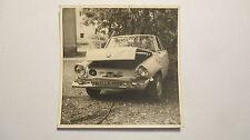 altes privat Foto BMW Unfallwagen Neustadt bei Coburg um 1970