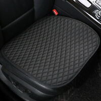 1 X PU Leather Front Seat Cover Breathable Pad Premium Interior Accessories New