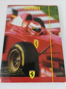 Original Italia Ferrari F310B Card Document Wallet - 96' 97' Season F1
