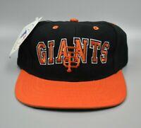 San Francisco Giants Vintage 90s Twins Enterprise Wool Snapback Cap Hat - NWT
