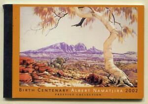 40626) AUSTRALIA 2001 MNH** Landscape paintings prestige booklet