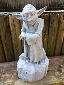 "Star Wars 16"" 42cm Yoda Polystone House or Garden Statue"