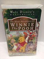 Winnie The Pooh VHS Walt Disney 1st Full Length Conmerative Edition
