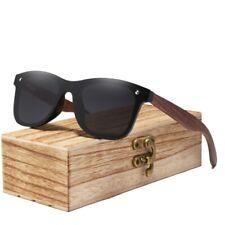 Unisex Fashion Sunglasses Handmade Rimless Polarized Natural Walnut Wood Eyewear
