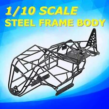 Black Steel Frame Body Roll Cage For Axial Wraith 1/10 RC Crawler Trucks Car
