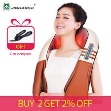 (with Gift Box)JinKaiRui U Shape Electrical Shiatsu Back Neck Shoulder Body