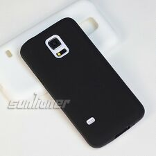 Black soft Gel Silicone Case Skin Cover for Samsung Galaxy S5 Mini,G800H