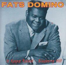 Fats Domino It Keeps Rainin' / Blueberry Hill 2 track cd single 1993