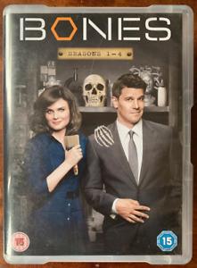 Bones Season 1-4 DVD Box Set Crime Drama US TVSeries 23 Disc Set