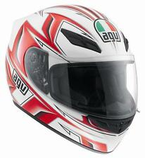 CASCO AGV K-4 EVO ARROW BLANCO/ROJO talla L