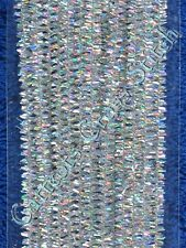 Pipe Cleaners Christmas Silver Tinsel Chenille Sticks Darice Sparkle Metallic