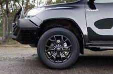 18 inch Genuine TOYOTA HILUX SR5/TRD ALLOY WHEELS BLACK BRAND NEW (wheels Only)