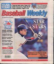 Cal Ripken Jr Baltimore Orioles USA Today Baseball Weekly July 5 - July 11 1991