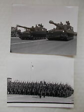 2 B&W Real Photographs Of JAPANESE MILITARY DISPLAY -Dated 1984 - The Rising Sun