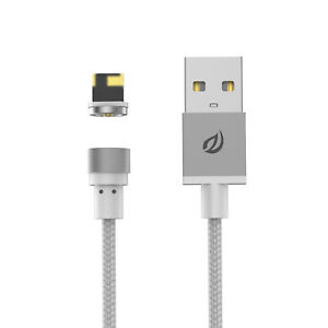WSKEN Round Magnetic Charger/Charging cable 4 Micro-USB/Lightning/Type-C USB-C