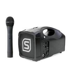 "SKYTEC ST-010 MEGAFONO PORTATIL ALTAVOZ 12CM (5"") USB MICRO INALAMBRICO BATERIA"