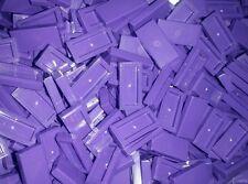 *NEW* Lego Purple Tiles 1x2 Flat Plates House Walls Floors - 20 pieces