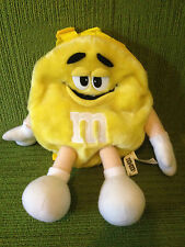M&Ms (M & M) CHARACTER YELLOW CHILDREN'S RUCKSACK - 2001 - EXCELLENT CONDITION