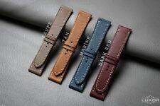 Epsom cow leather watch strap, Handmade watch band, custom watch strap
