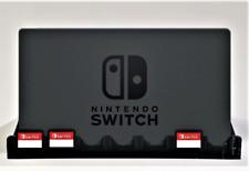Switch Dock & Game Card Wall Bracket (Fits Nintendo Switch)