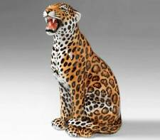 exklusive Dekofigur JAGUAR 86cm Italien Design Keramik handmade