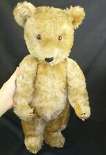 CHILTERN TEDDY BEAR, JOINTED BEAR,  VINTAGE BEAR 1950s , OLD BEAR