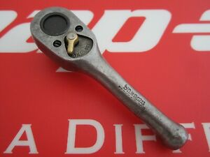 "1945 Snap-on Tool 3/8"" Drive STUBBY FERRET RATCHET F-70N year mark G(Government)"