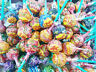 CHUPA CHUPS Lolipops Mix Apple Orange Grape Strawberry Ice cream Flavors