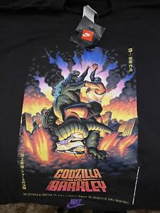 vintage nike t shirt Gozilla Vs Barkley