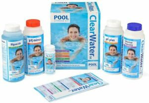 ClearWater Pool & Lay-Z-Spa Treatment, Chemicals Starter Kit Set Swimming Pool