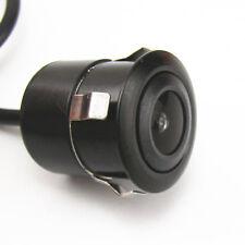 DC12V 170° CCD Car Reverse Backup Front Rear View Camera Kits 18.5mm Waterproof