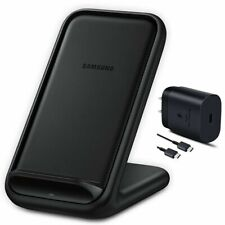 Samsung Wireless Fast Charging 2.0 Stand with Wall Charger Qi Enabled US Model
