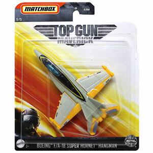 Matchbox Skybusters Plane -Top Gun: Maverick -BOEING F/A-18 SUPER HORNET HANGMAN