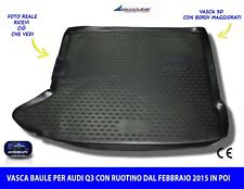Tappetini AUDI q3 a partire dal 2011 Nero Auto Tappeti Ago Feltro 4tlg