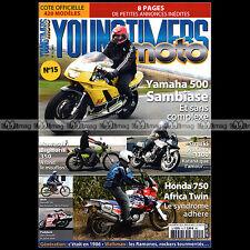 YOUNGTIMERS MOTO 15 TEST KAWASAKI 350 BIGHORN F9SUZUKI GSX 1100 HONDA XRV 750