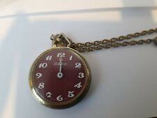 with a chain Vintage Lucerne Pocket Watch