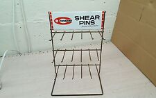 Vintage advertising COSOM Outboard Shear Pin Display Rack boat