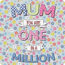 Mum You Are One IN A Million Bebidas Tapete / Posavasos (Og)
