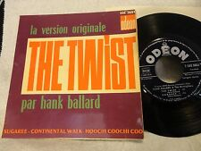 HANK BALLARD AND THE MIDNIGHTERS EP The TWIST Sugaree + 2 ODEON French 60's ORIG