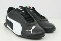 Puma Mens Shoes Ferrari Scuderia R Cat Leather Black 339937 02 Sz 9.5