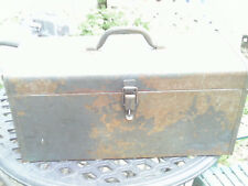 Original Kennedy standard truck chest tool box brown used fair condition