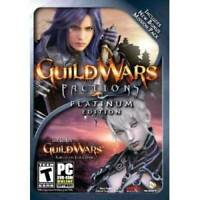 Guild Wars Factions Platinum - PC - DVD-ROM - VERY GOOD