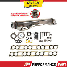 Upgraded EGR Cooler Kit w/ Gaskets for Ford F-250 F-350 6.0L V8 Diesel Turbo