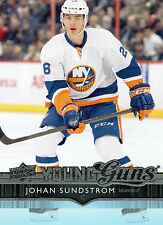 Johan Sundrstrom 2014/15 Upper Deck Young Guns RC #235