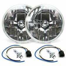 Snake-Eye 7 Inch Halogen Lens Assembly with H4 Bulb and Plug  Pair 1955 ford