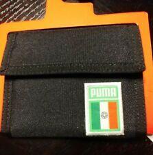 New Puma Black Mexico Bi Fold Wallet NWT