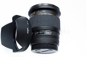 Sigma EX 24mm f1.8 DG Canon EF Superweitwinkel Objektiv