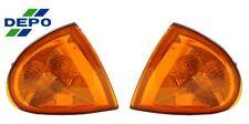 fits 93 94 95 97 Del Sol JDM Amber Corner Lights w/ cap DEPO