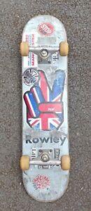 Skateboard - Flip Geoff Rowley Deck - Independent Trucks - Spitfire Wheels