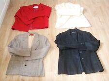 4 Vintage Designer Jackets, Hacking, Equestrian Show Jackets, 100% WOOL, Size 12